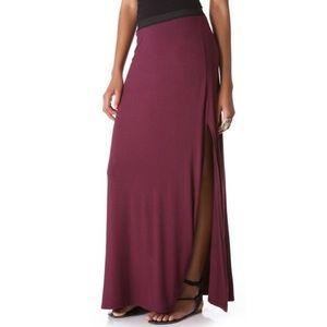 Free People Elastic Waist Maxi Skirt
